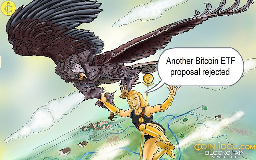 Another Bitcoin ETF proposal rejected