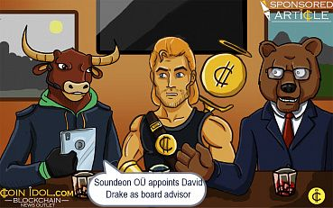 Soundeon OÜ Appoints Media Investor and Blockchain Advocate David Drake as Board Advisor to Fine-Tune the Music Industry