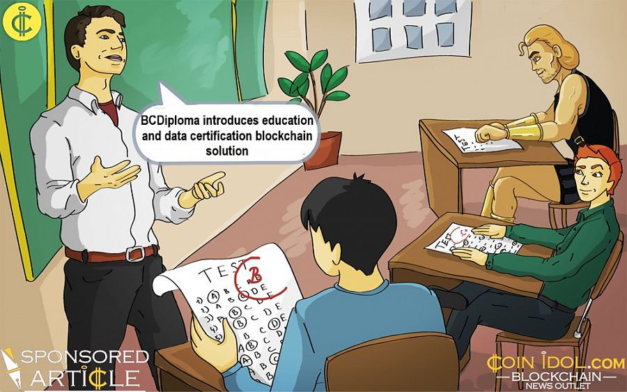 BCDiploma introduces blockchain-based solution