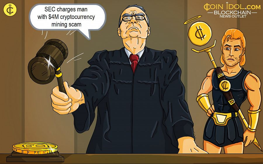 SEC charges man with $4M cryptocurrency mining scam