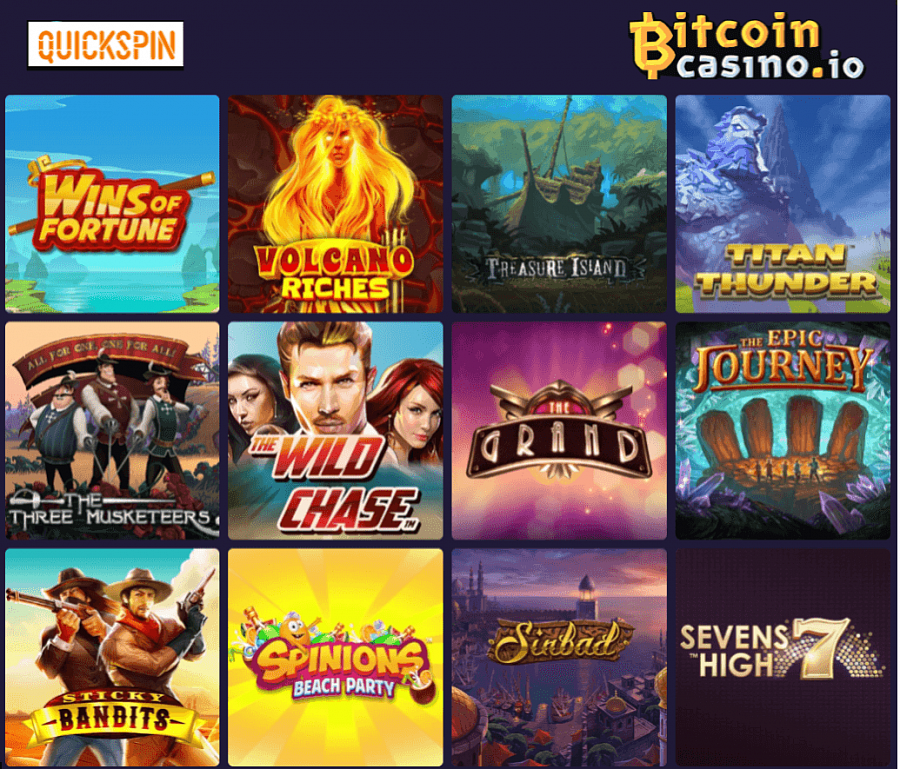 Bitcoincasino.io is a fully licensed gambling platform, so players can be sure that they will find only the safest and fairest of games.