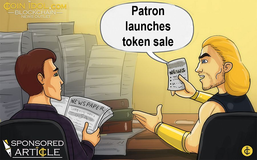 Patron launches token sale