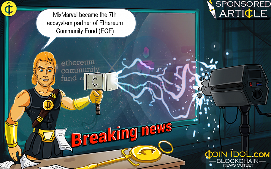 MixMarvel is the first globally recognized blockchain game developer and distributor that became an ecosystem partner of the ECF.