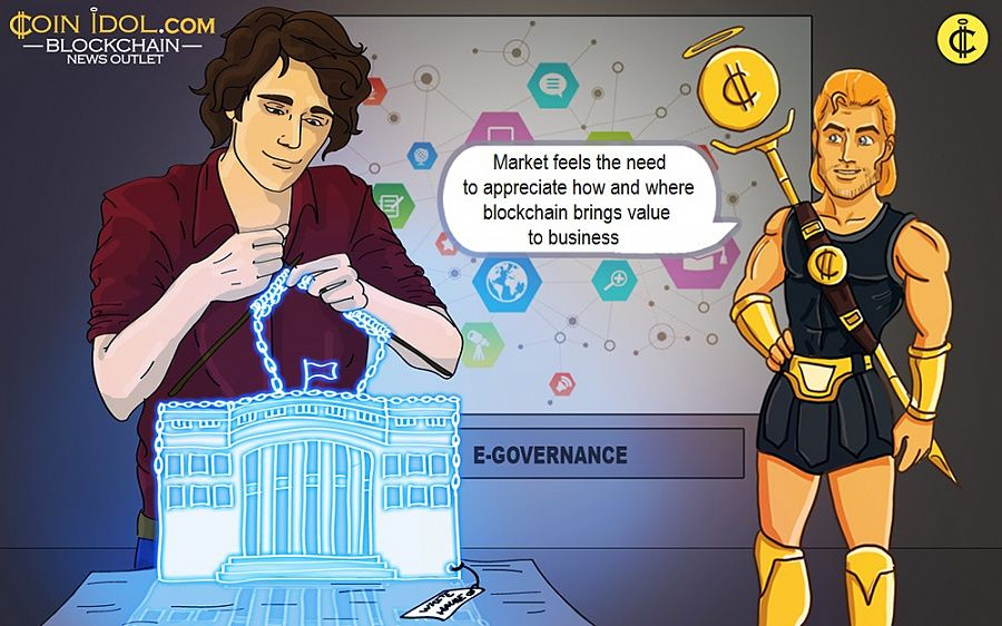 Market feels the need to appreciate how and where blockchain brings value to business