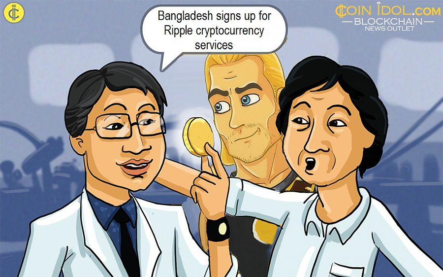 Bangladesh signs up for Ripple cryptocurrency services