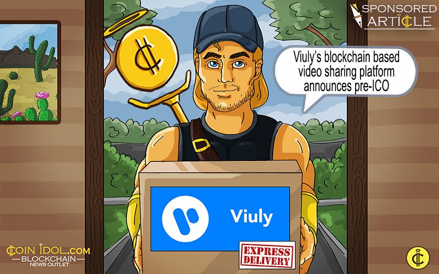 Viuly's Blockchain Based Video Sharing Platform Announces Pre-ICO 1201b4c6a1c32a03b482b7d8b5e34f70