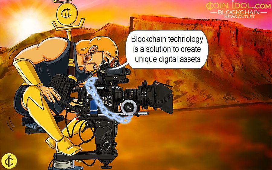 Blockchain technology is a solution to create unique digital assets