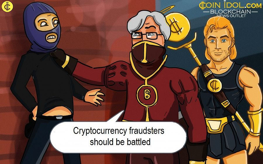 Cryptocurrency fraudsters should be battled