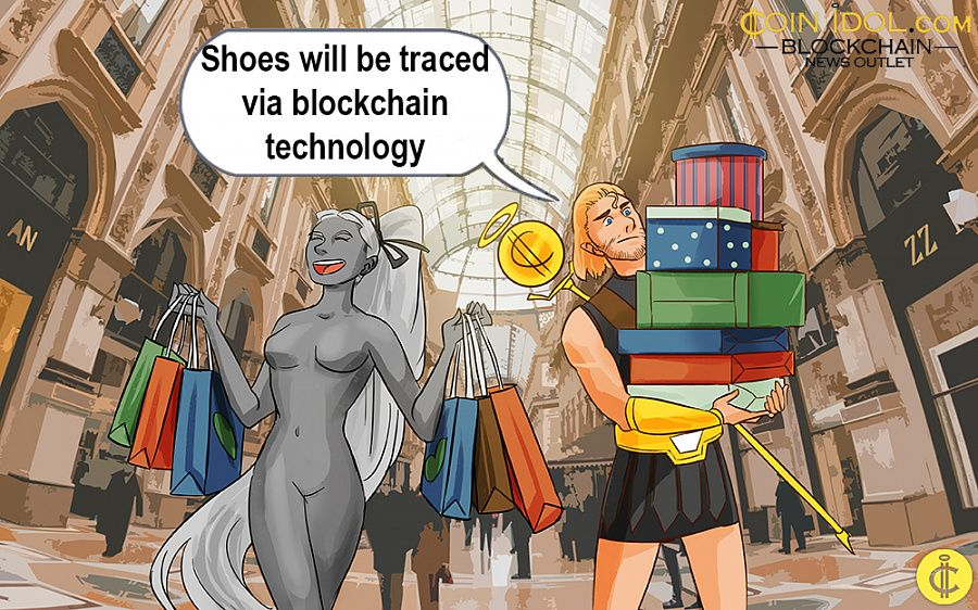 Footwear to be traced with blockchain