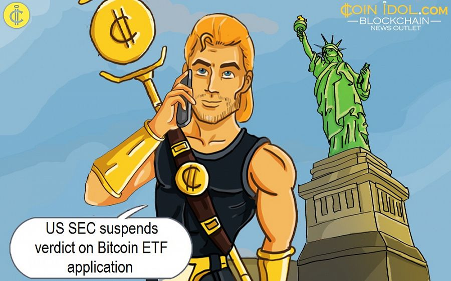 US SEC suspends verdict on Bitcoin ETF application
