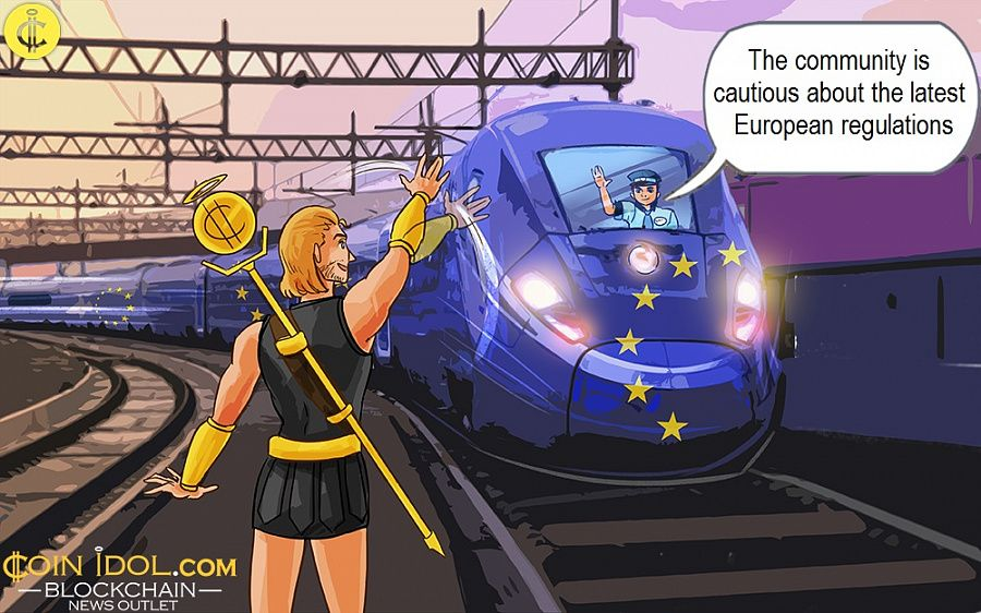 The community is cautious about the latest European regulations
