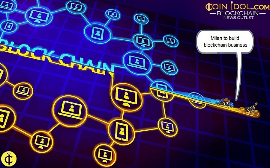 Milan to build blockchain business