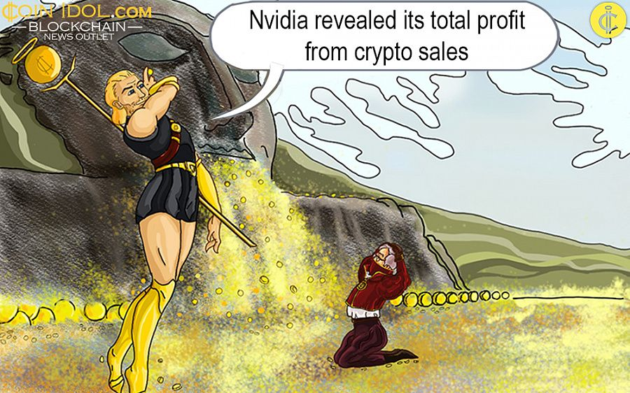 Nvidia revealed profit from crypto sales
