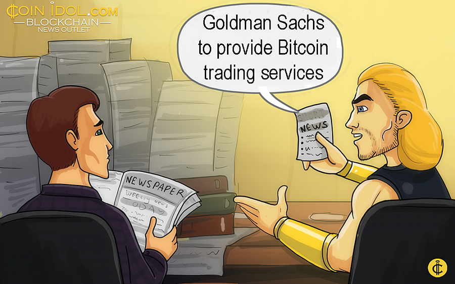The current CEO of Goldman Sachs, David Solomon, confirmed in June that the financial institution has been clearing BTC futures purposely for its customers aiming at setting up a crypto trading desk in the near future.