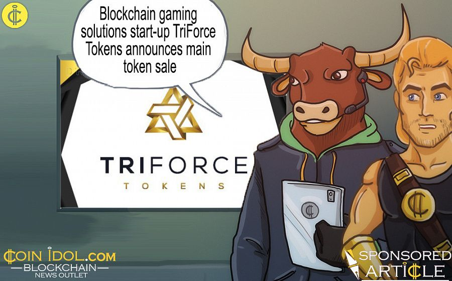 UK-based tech company TriForce Tokens' online gaming solutions
