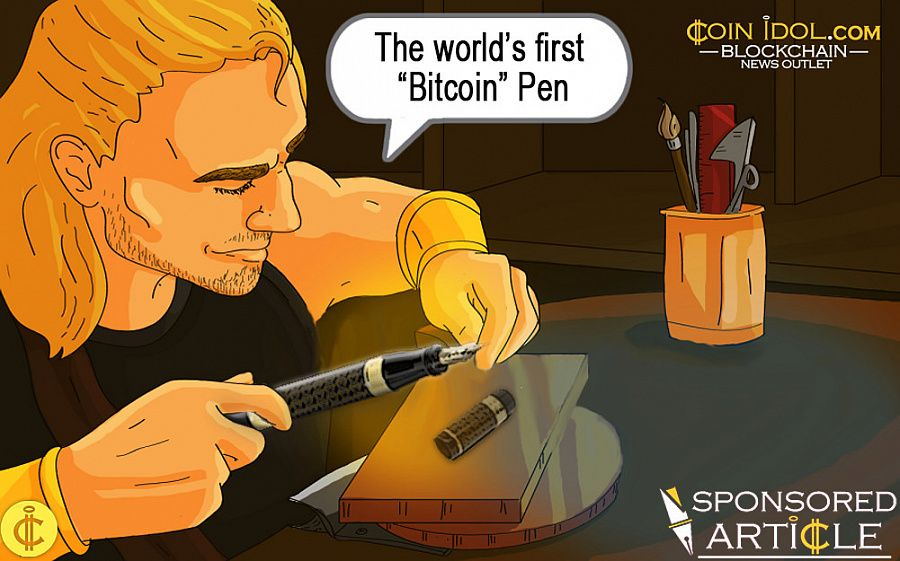 "Italian Luxury Pen Makers Ancora Announces Pre-sale of World's First ""Bitcoin"" Pen 235021844363c25c5ed5124591b46314"