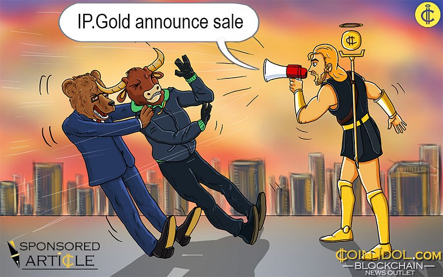 IP.Gold announce sale