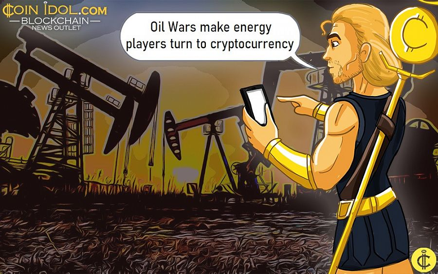Oil Wars make energy players turn to cryptocurrency