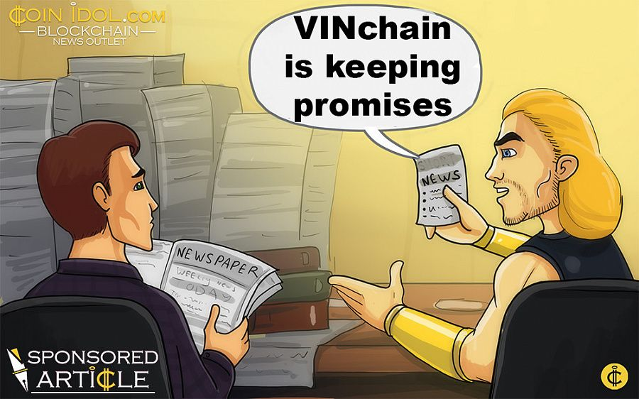 VINchain is keeping promises