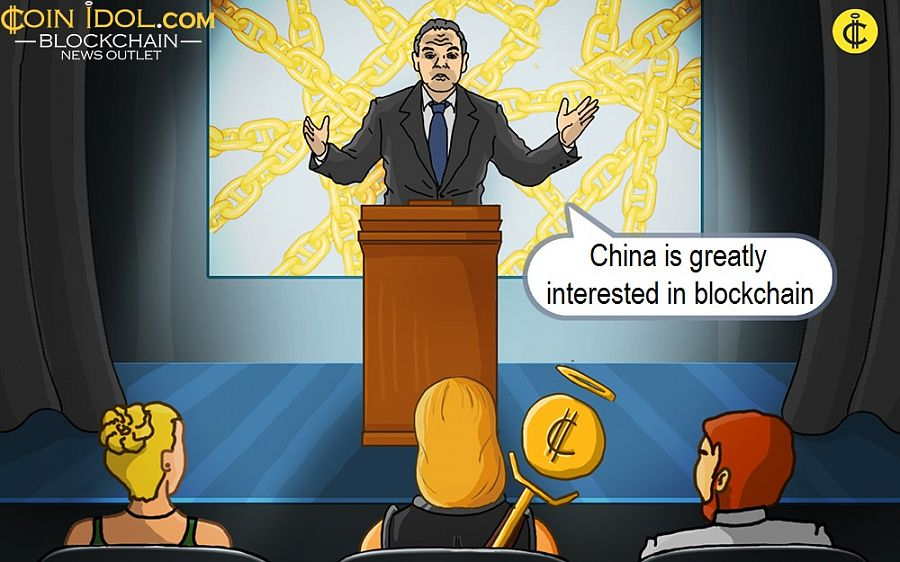China is greatly interested in blockchain