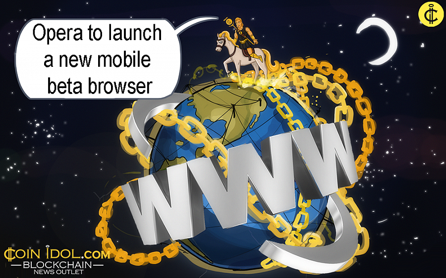 The developer of the browser revealed that it's a new version of the Opera browser particularly for Android.