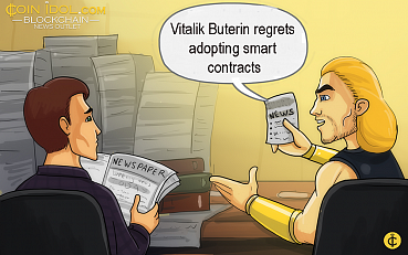 Vitalik Buterin Regrets Adopting Smart Contracts