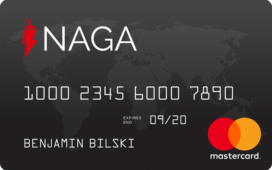 NAGA announces pre-registration of the NAGA Debit Card