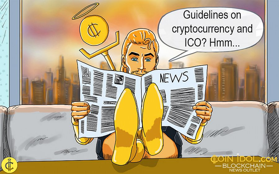 Guidelines on cryptocurrency