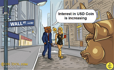 USD Coin Volume Increases Following Visa's Acceptance of Cryptocurrency Payments