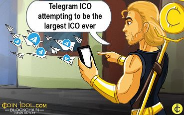 Telegram ICO has Raised $1.7 bln Attempting to be the Largest ICO Ever