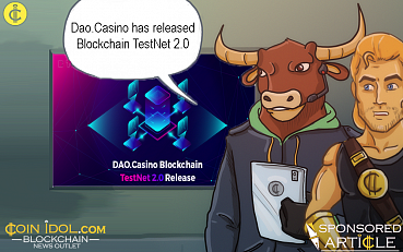 DAO.Casino Releases TestNet 2.0 | Next Generation of the Gambling Industry