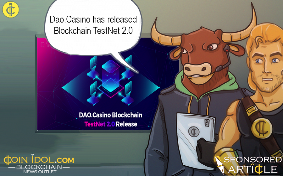 Dao.Casino is building a Blockchain for the gambling industry that ensures the automation of transactions and facilitates interactions between all the industry participants.
