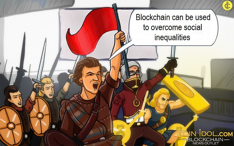 Blockchain can be used to overcome social inequalities