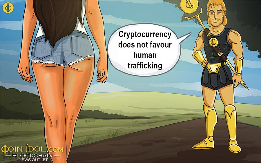 Cryptocurrency combats human trafficking