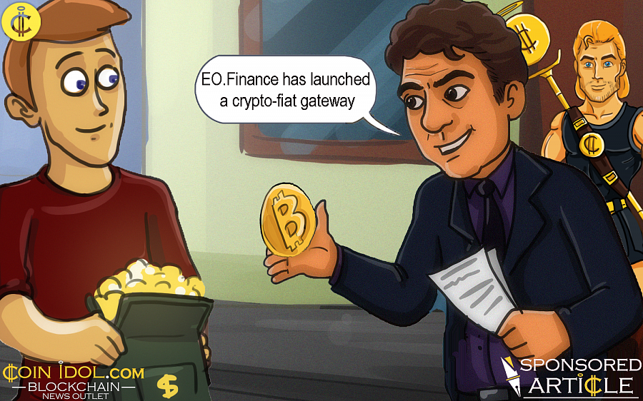 Right now EO.Finance works with 40 different cryptos, and soon even more currencies will become available for purchase.
