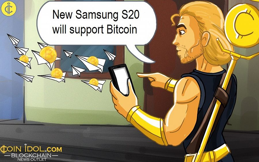 New Samsung S20 will support Bitcoin