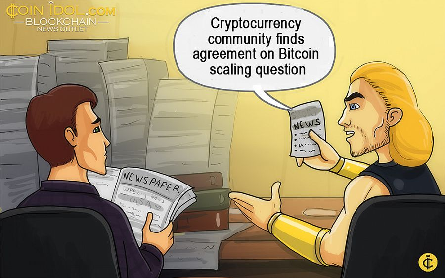 The Digital Currency Group published an official confirmation of the agreement on the Bitcoin network scaling question.