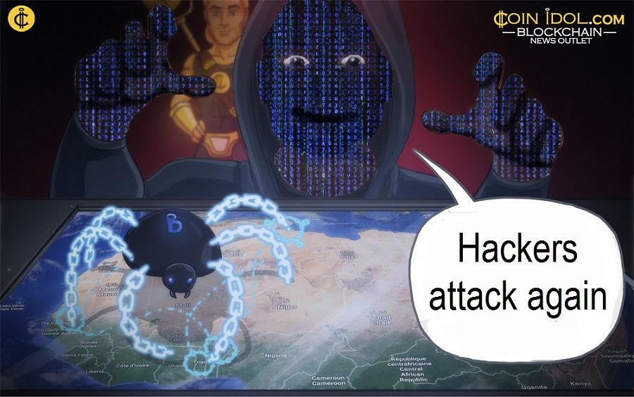 Hackers attack again