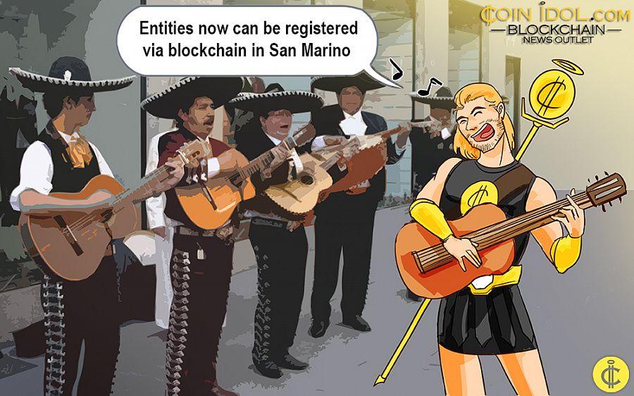 San Marino blockchain registry