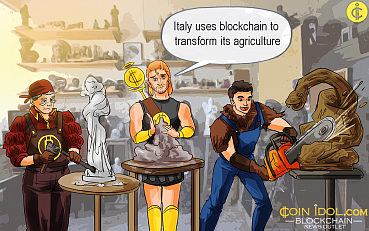 Blockchain Startups Transform Agriculture Projects in Italy