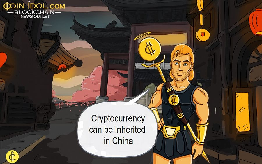 Cryptocurrency can be inherited in China