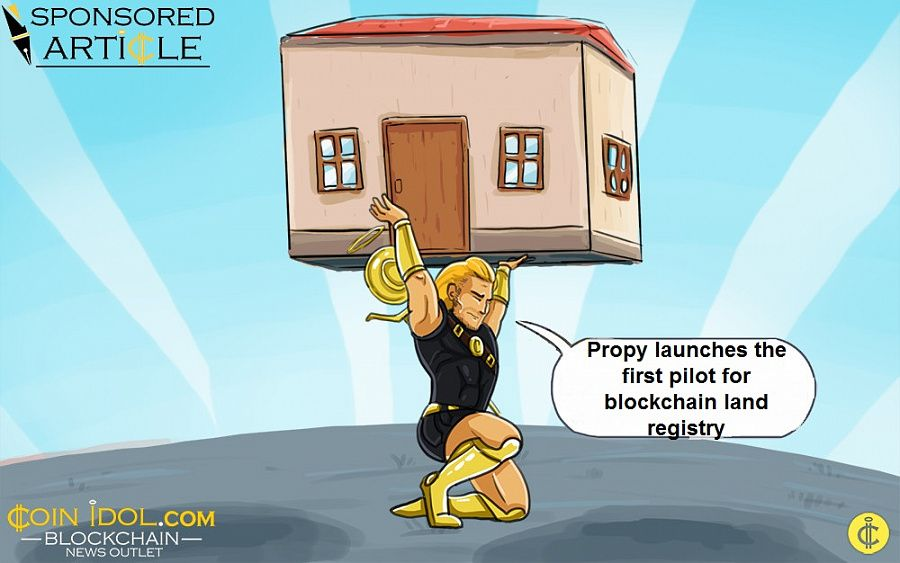 Propy launches the first pilot for blockchain land registry