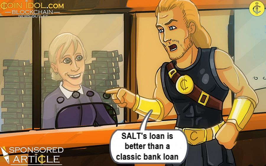 SALT's loan is better than classic bank loan