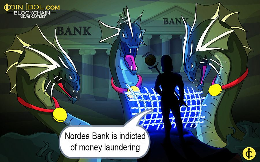Nordea Bank indicted of money laundering