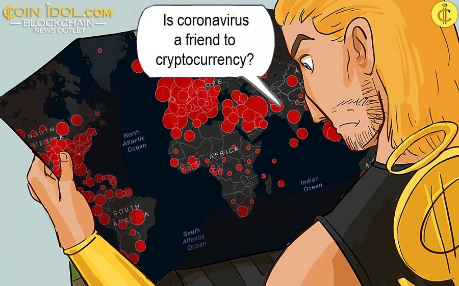 Is coronavirus a friend to cryptocurrency?