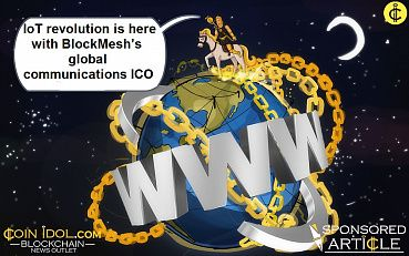 The IoT Revolution Is Here With BlockMesh's Global Communications ICO