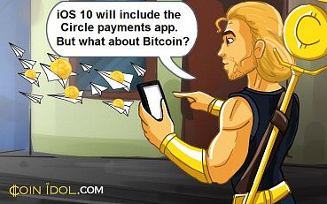 New Apple iOS 10 To Enable Circle Payments App. What About Bitcoin?