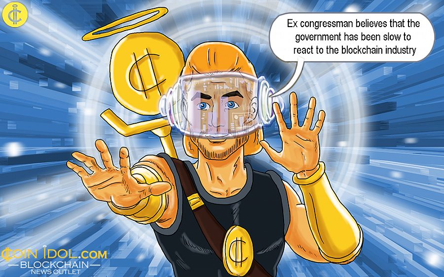 A successful financial managing director believes that the government has been slow to react to the cryptocurrency and blockchain industry, and thinks that this might damage innovation in the future.