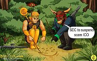 SEC Issues a Special Order to Suspend Activity of Scam ICO that Raised $21 mln