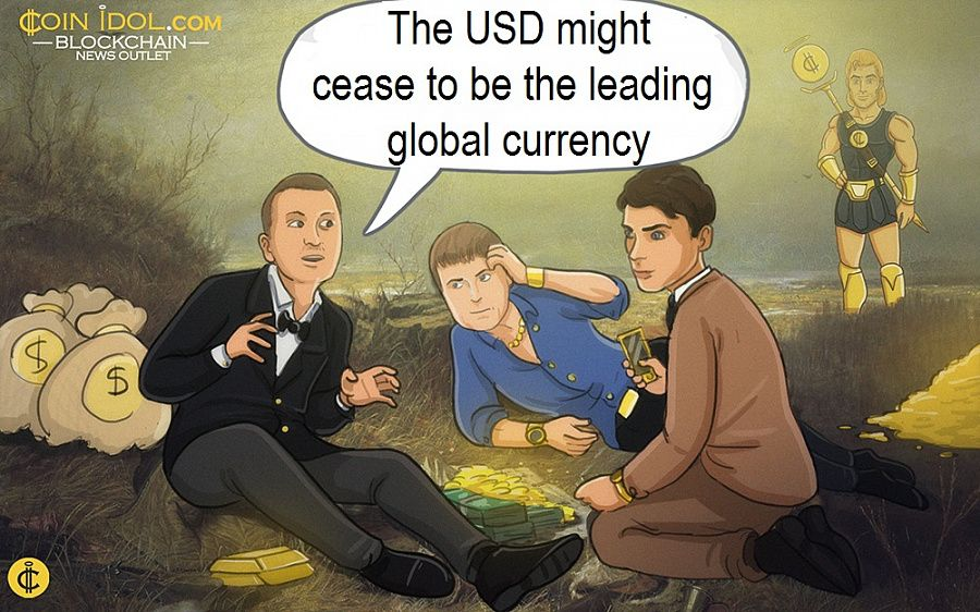 The USD might cease to be the leading global currency